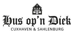 Hus op´n Diek Logo